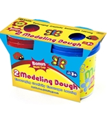 BAZIC 5 Oz. Multi Color Modeling Dough (2/Pack)