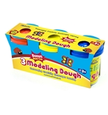 BAZIC 5 Oz. Multi Color Modeling Dough (3/Pack)