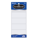 BAZIC 2 3/4 X 1 White Multipurpose Label (128/Pack)