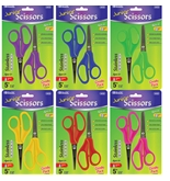 BAZIC 5 Blunt & Pointed Tip School Scissors (2/Pack)