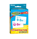 BAZIC Subtraction Flash Cards (36/Pack)