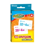 BAZIC Division Flash Cards (36/Pack)