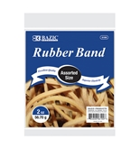 BAZIC 2 Oz./ 56.70 g Assorted Sizes Rubber Bands