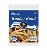 BAZIC 2 Oz./ 56.70 g #64 Rubber Bands