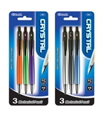 BAZIC Crystal 0.7mm Mechanical Pencil (3/Pack)
