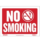 12 X 16 No Smoking Sign