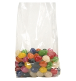 "6"" x 3"" x 15"" - 2 Mil Gusseted Poly Bags - PB1550"