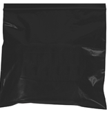 "3"" x 5"" - 2 Mil Black Reclosable Poly Bags - PB3550BK"