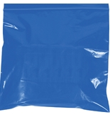 "5"" x 8"" - 2 Mil Blue Reclosable Poly Bags - PB3585BL"