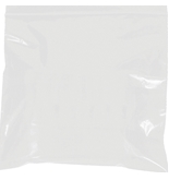 5- x 8- - 2 Mil White Reclosable Poly Bags - PB3585W