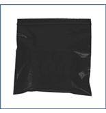 "6"" x 9"" - 2 Mil Black Reclosable Poly Bags - PB3615BK"