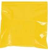 "6"" x 9"" - 2 Mil Yellow Reclosable Poly Bags - PB3615Y"