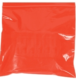 8- x 10- - 2 Mil Red Reclosable Poly Bags - PB3635R