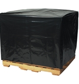 54- x 44- x 76-  - 2 Mil Black Pallet Covers - PC124
