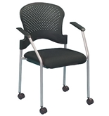 BREEZE w/ CASTERS FS8270 STACK SIDE CHAIR