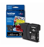 Brother LC65HYBK High Yield Ink Cartridge - Retail Packaging-Black [CD-ROM]