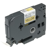Brother TZ-631 1/2- Labeling Tape (26.2-, Black on Yellow)