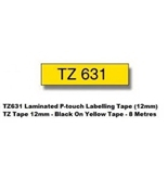 Brother Tz631 Acedepot Brand Compatible Tape-over 20% More in Length Compared to Brother Made