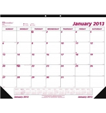 Brownline 2013 Monthly Desk Pad Calendar, January - December, 22 x 17 Inches (C1731-13)