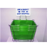 Garvey BSKT-40910 Stand and Sign Sets - Green