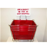 Garvey BSKT-40912 Stand and Sign Sets - Red