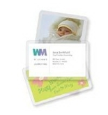 Business Card Size Laminating Pouches 2 1/4 x 3 3/4, 10 Mil, 100/Pack (FEL52058)
