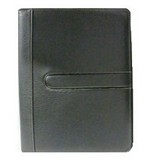 Buxton Writing Pad Folio, Black, 8 1/2 in x 11 in