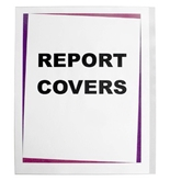 C-Line Clear Polypropylene Report Covers, For Use with Slide-'N-Grip Binding Bars, 8-1/2 x 11 Inches