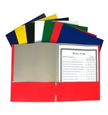 C-Line Recycled Two-Pocket Paper Portfolio, Color May Vary, 1 Folder Only (05300)