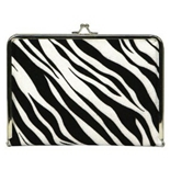 C.R. Gibson PC1-9046 Zebra Photo Clutch [Kitchen]