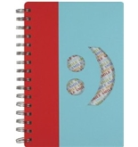 C.R. Gibson Spiral Journal with Perforated Pages, Smiley Face (GMP93-10158)