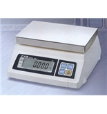 CAS SW-1-5 Food Service Scale, 5 x 0.002 lbs, Legal for Trade