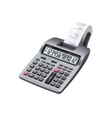 CASIO HR100TM Compact Desktop Calculator, 12-Digit LCD, Two-Color Printing (Case of 3)
