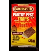 Catchmaster Food & Pantry Moth Traps for Indian Meal Moths, Flour Moths, Grain Moths, Bird Seed Moths and More! Catchmaster 12 packs of 2 Traps