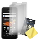Cbus Wireless 3x Sets LCD Screen Guards / Protectors for Samsung Galaxy Prevail / Precedent / M820
