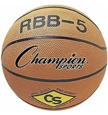 Champion Mini Basketball; 7- Diameter; Orange; no. CHSRBB5