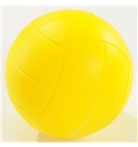 Champion Sports Coated High Density Foam Volleyball