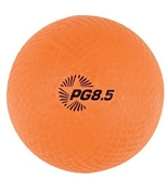 Champion Sports Playground Ball (Orange, 8.5-Inch) [Sports]