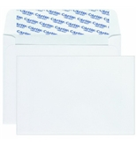 "Columbian CO468 Grip-Seal Invitation Envelopes A9, 5-3/4"" x 8-3/4"" - White (Box of 100)"