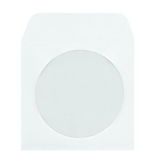 Columbian CO850 5x5 CD/DVD Sleeves White, 100 Count