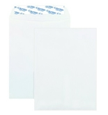 Columbian White 9 x 12 Inch Catalog Grip-Seal Closure Envelopes 100 Count (CO920)