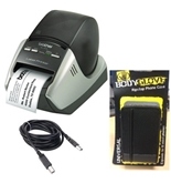 Combo Brother QL-570 Professional Label Printer with Fellowes USB 2.0 and Fellowes BodyGlove