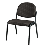 DAKOTA NO ARMS-BLACK NEW FS8014 STACK SIDE CHAIR
