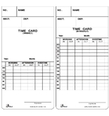 David-Link T 7300 Weekly/Bi-weekly Time Cards