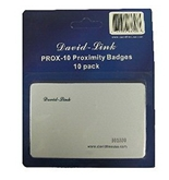 David-Link PROX-10 Proximity Badges (Packs of 10)