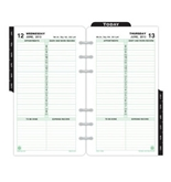 Day-Timer 1-Page-Per-Day Refill, Portable Size, 3.75 x 6.75 Inches, January - December, 2013 (D12800-1301)