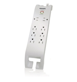 Philips SPP3080D/17 Home Electronics Surge Protector with 8 Outlets, 2160J, 3-Foot Cord