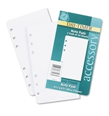 Day-Timer Lined Note Pads for Organizer - 3-3/4 x 6-3/4, 48 Sheets/Pack