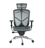 Eurotech Fuzion High Back Green Mesh Chair w/ Aluminum Base