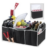 EZ Storage Solutions Trunk Organizer & Cooler, Fully Collapsible and Portable